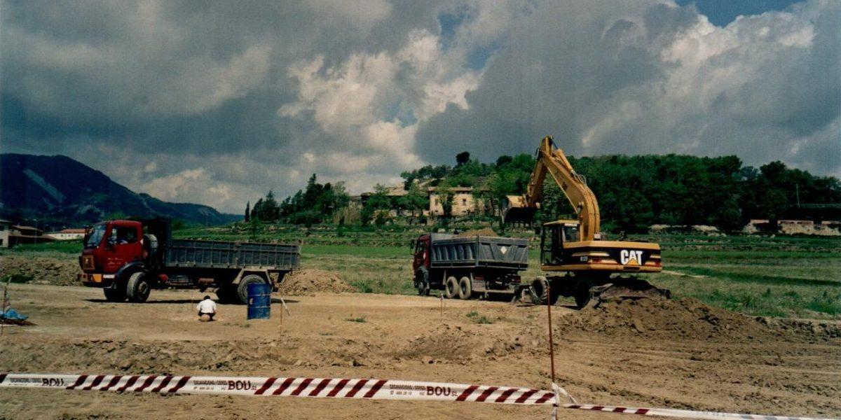 Segona fase de l'urbanització de Prixana (2000)